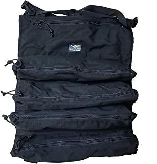 product image for Atlas 46 Yorktown Tool Roll, Black | Made in the USA
