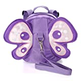 Amazon Price History for:Hipiwe Baby Anti-lost Backpack Butterfly Walking Safety Belt Harness Toddler Reins Strap with Leash (Purple)