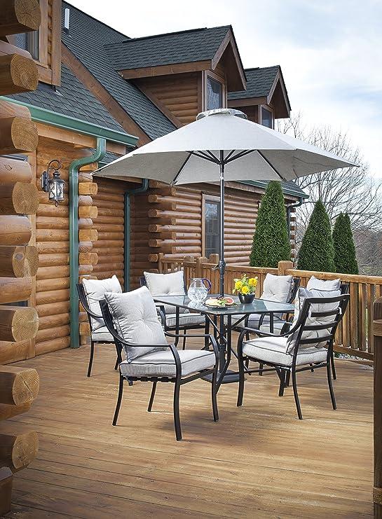 Amazon.com: Hanover - Paraguas para el juego de comedor al ...