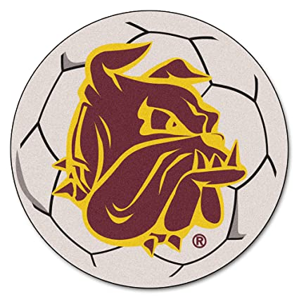 FANMATS NCAA University of Minnesota-Duluth Bulldogs Nylon Face Carpet Car Mat