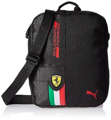 4c091c371 Puma Umhängetasche Ferrari Fanwear Portable, Borsa a Tracolla  Unisex-Adulto, Black, Taglia