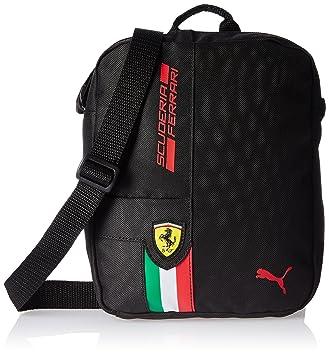 1728227e4f Puma Unisex Ferrari Fan Wear Portable Shoulder Bag, Unisex, Shoulder Bag,  Umhängetasche Ferrari
