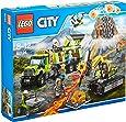 LEGO City 60124 - Set Costruzioni City Vulcano Base Delle Esplorazioni Vulcanica
