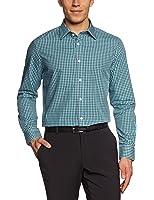 ESPRIT Collection Herren Businesshemd Slim Fit, kariert 033EO2F003