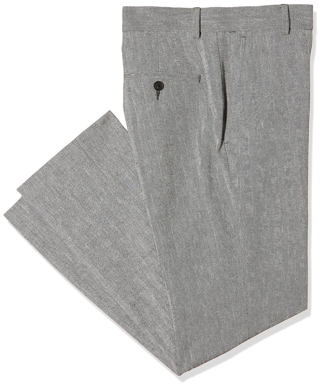TALLA W32/L34 (Tamaño del fabricante: 30). New Look Herringbone Slub - Pantalones para Hombre