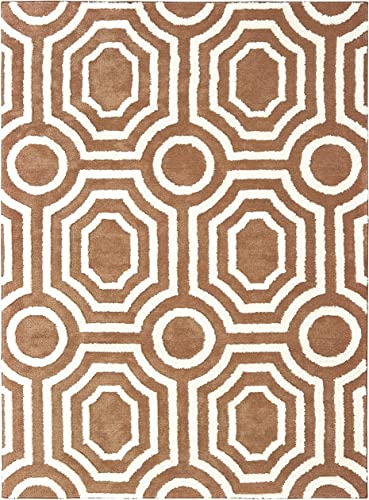 United Weavers of America Pure Balbis Rug 7 10 x 10 6 Light Brown