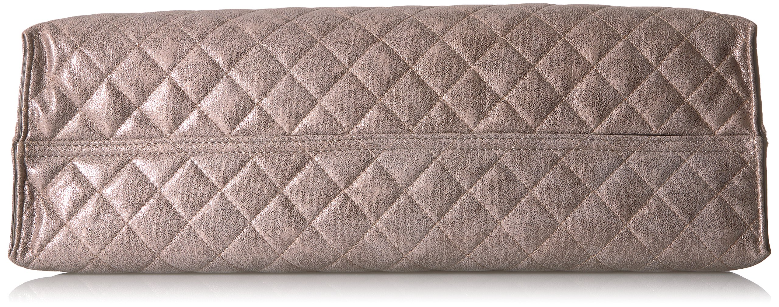 Calvin Klein Quilted Distressed Novelty Tote, Mtallic Taupe by Calvin Klein (Image #4)