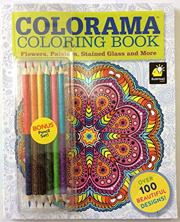 COLORAMA COLORING BOOK By BULBHEAD MfrPartNo 9627 6