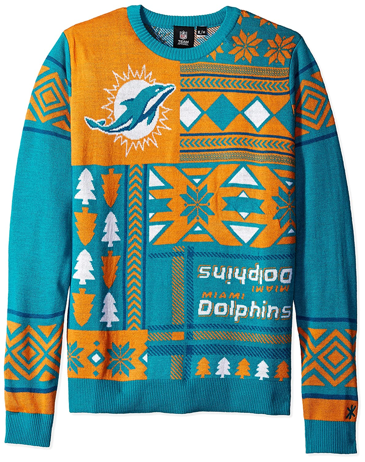 NFL Patches Ugly Sweater-