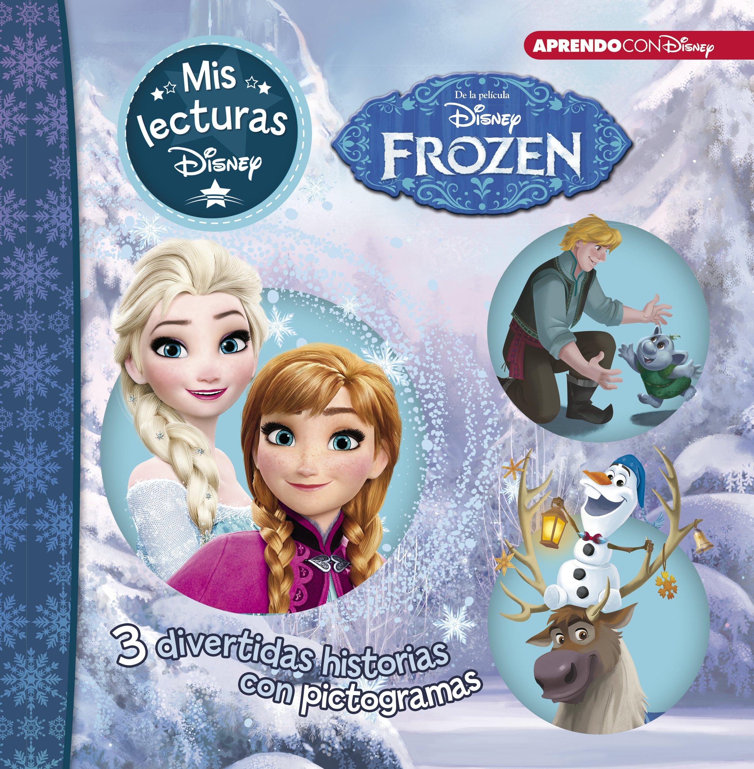 Frozen | Luces de invierno | Una aventura de Olaf (Mis lecturas Disney) (Spanish) Hardcover – 2018