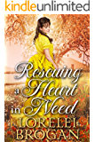 Rescuing a Heart In Need: A Historical Western Romance Book