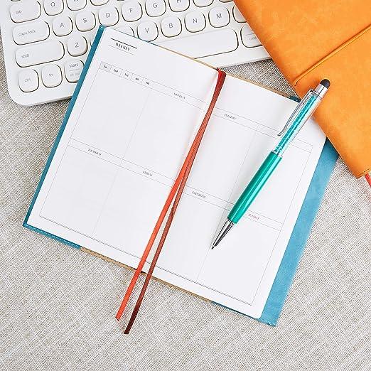Amazon.com: Planificador mensual 2019 con marcadores de ...