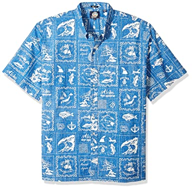 30843775ede6 Reyn Spooner Men s Stories from The East Spooner Kloth Classic Hawaiian  Shirt