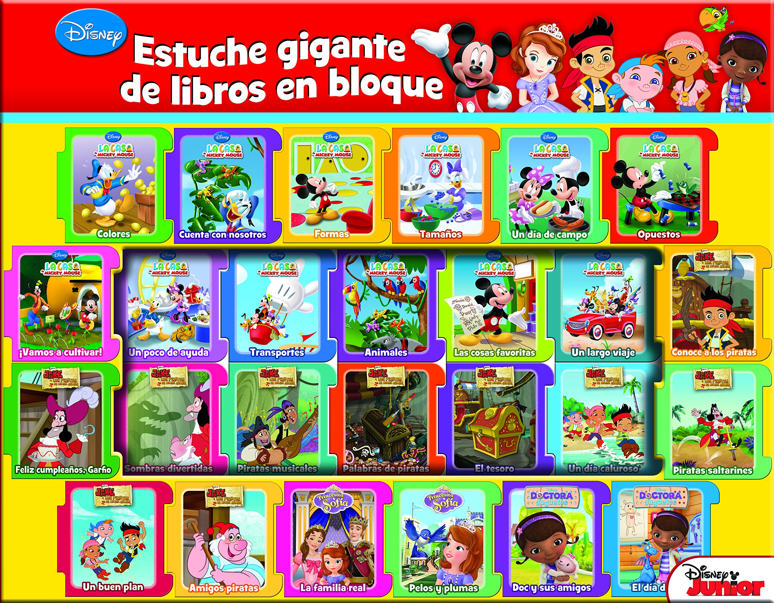 Disney Estuche Gigante X 26: PUBLICATIONS INTERNATIONAL LTD ...