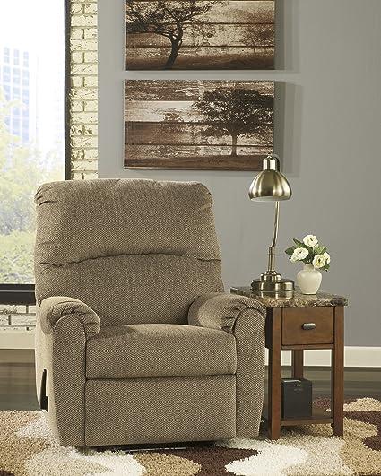 Pranit Cork Contemporary Design Chenille Fabric Upholstered Zero Wall  Recliner