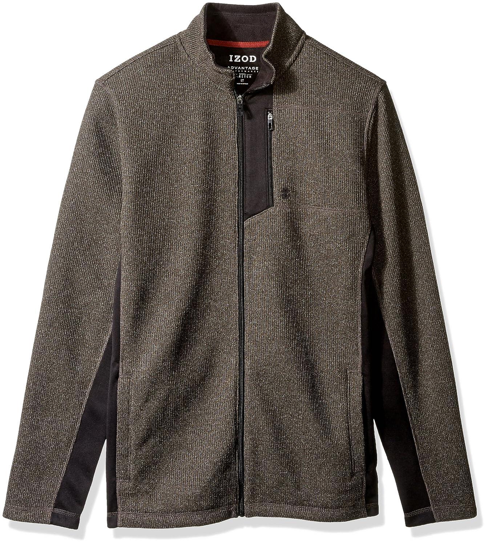 Izod Mens Big-Tall Big Tall Shaker Fleece Jacket IZOD Men' s Sportswear 45X7208