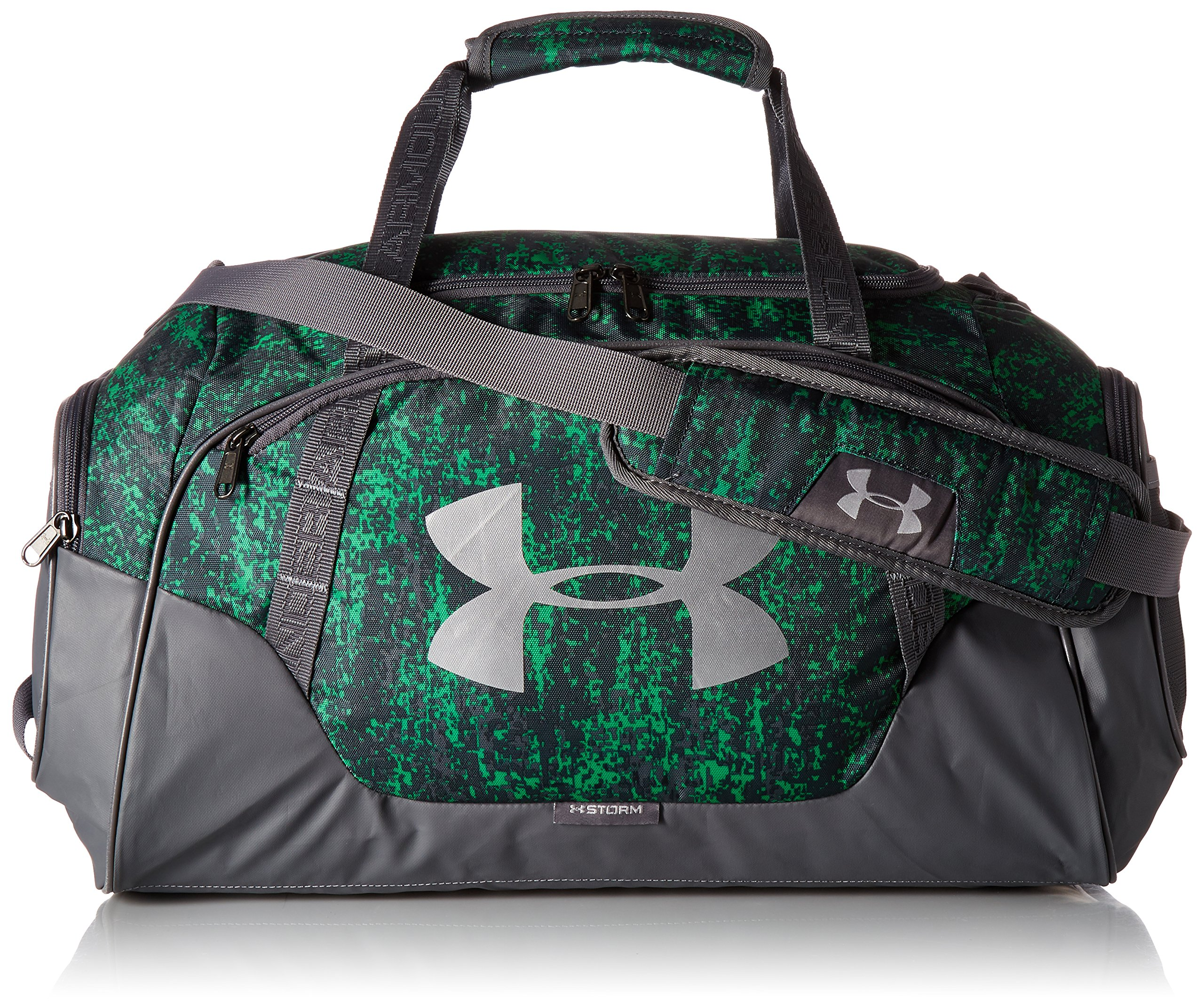 Under Armour Undeniable Duffle 3.0 Gym Bag, Lime Twist (974)/Silver,
