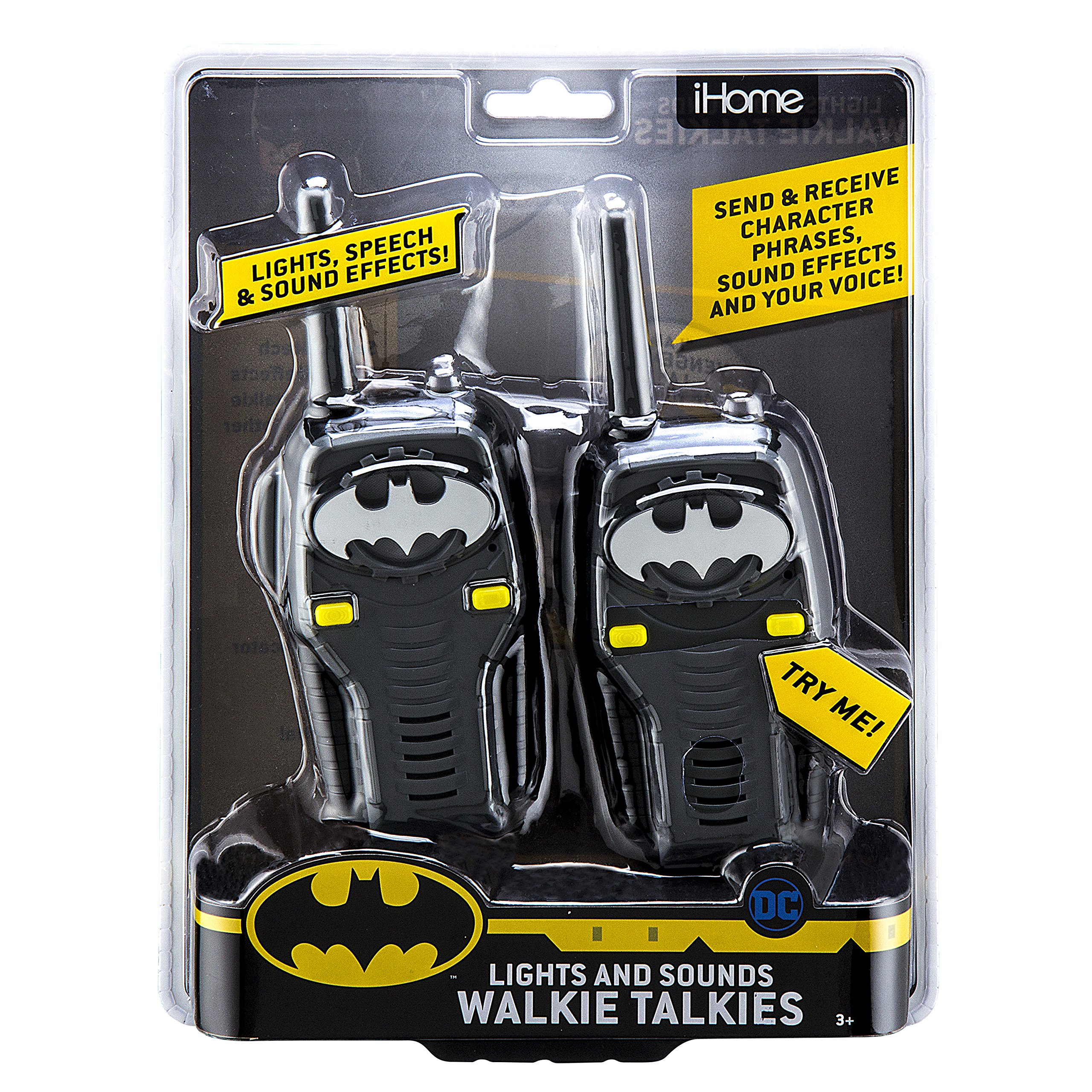 Batman FRS Walkie Talkies for Kids with Lights and Sounds Kid Friendly Easy to Use by eKids (Image #5)