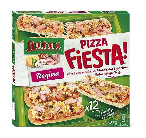 Buitoni Pizza Congelada, Fiesta Regina - 500 g