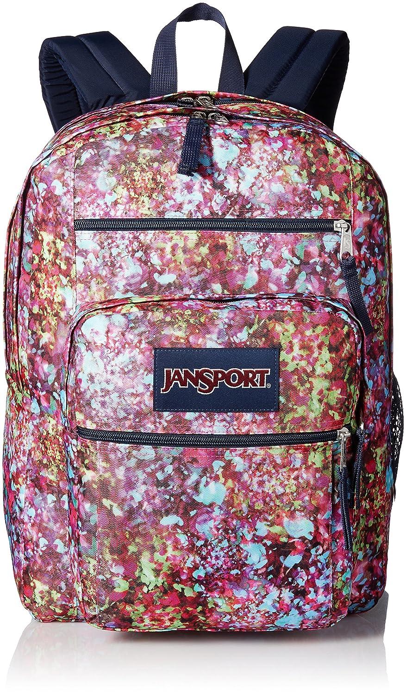 Multicoloured, Flower Jansport Big Student Rucksack