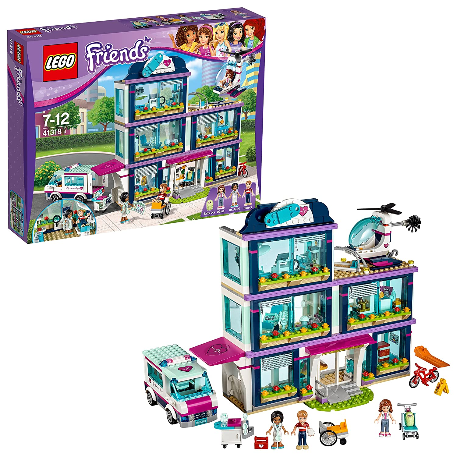 LEGO Friends - Le catamaran - 41317 - Jeu de Construction