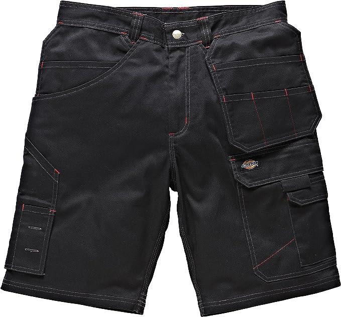 Dickies Redhawk PRO Lavoro Pantaloni Knee Pad Cargo Combat Nero libero knee/&belt