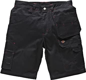 65/% Polyester//35/% Baumwolle Dickies WD802 GY 30 Redhawk Pro Shorts Gr/ö/ße 30 Grau