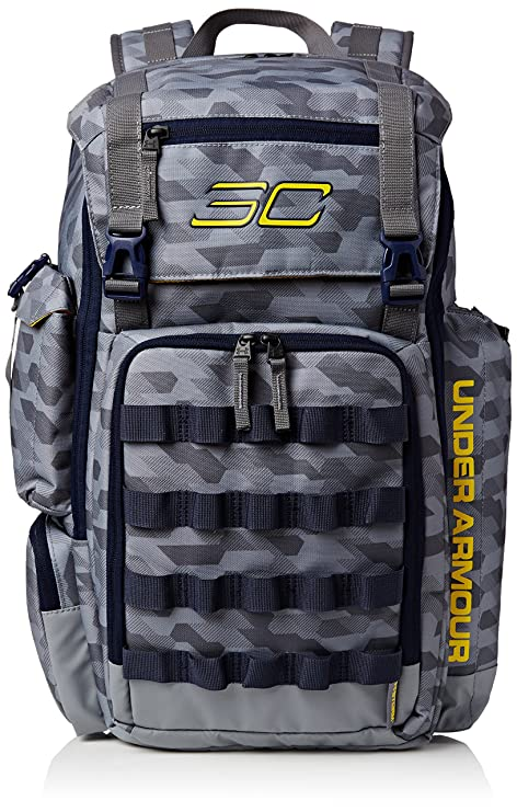 Men s Under Armour SC30 Backpack Basketball Bag Stealth Gray Midnight  Navy Taxi Size One Size  Amazon.ca  Luggage   Bags 279161a01f3ca