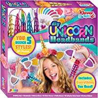 JOYIN Klever Kits Create Your Own Unicorn Headband Girls Art & Craft Kit DIY Unicorn Fashion Headband Hair Accessories