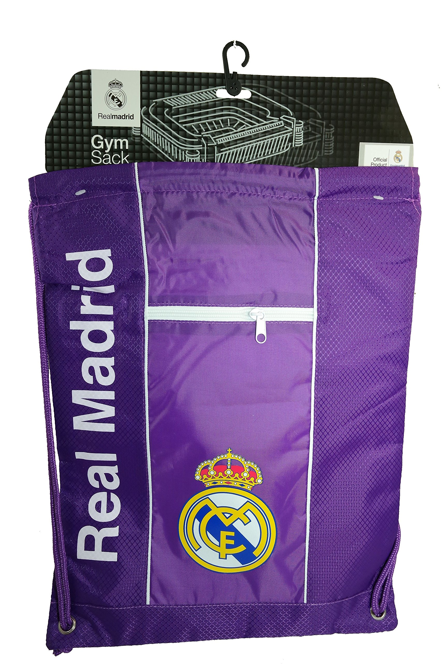 Real Madrid Authentic Official Licensed Soccer Drawstring Cinch Sack Bag 018