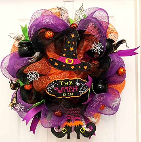 The Witch Is In Wreath