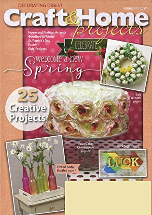 Etonnant Decorating Digest Craft Home Projects Magazine