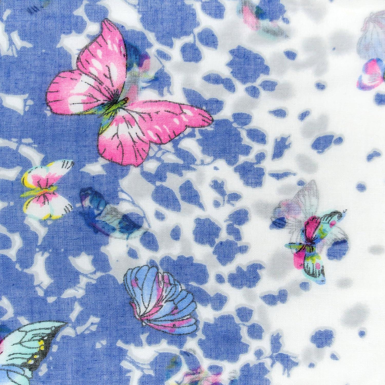MANUMAR Loop-Schal f/ür Damen Rundschal Geschenkidee f/ür Frauen Schlauchschal Damen-Schal Hals-Tuch in verschiedenen Farben mit Schmetterling Motiv als perfektes Herbst Winter Accessoire