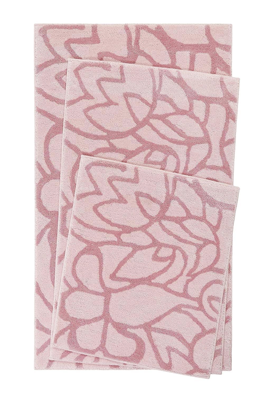 Esprit I Bad Teppich I Flower Shower I ESP-0231-11 I (60 x 100 cm, Rosa)