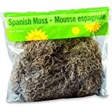 FloraCraft Spanish Moss, 250 cu in (4 Liters) Bag