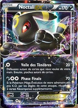 Carte Pokémon 55 124 Noctali Ex 170 Pv Ultra Rare Xy