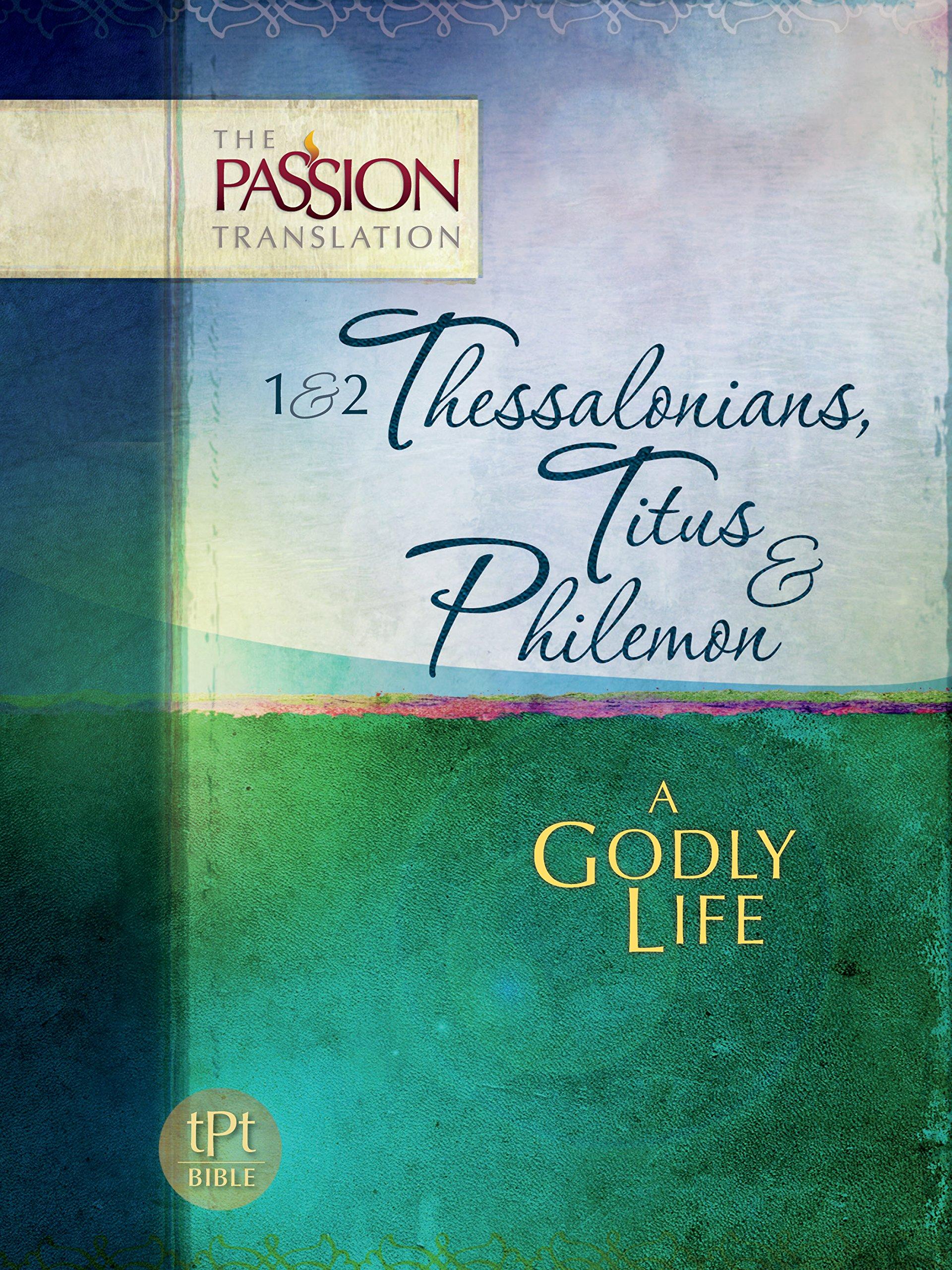 Thessalonians Titus Philemon Passion Translation product image
