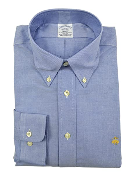 c644606f350c Image Unavailable. Image not available for. Color: Brooks Brothers Men's  Regent Slim Fit Supima Button Down Shirt ...
