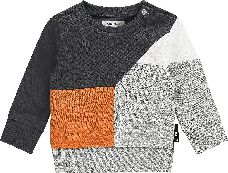 Noppies Baby-Jungen B Sweat Ls Aberdeen Sweatshirt