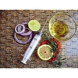 Al-De-Chef Marinade Injector Flavor Syringe Cooking Meat Poultry Turkey Chicken BBQ Grill Cajun Taste