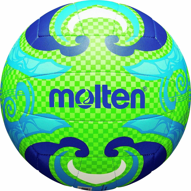 MOLTEN - Balón de Volley Playa grün/Blau Talla:5: Amazon.es ...