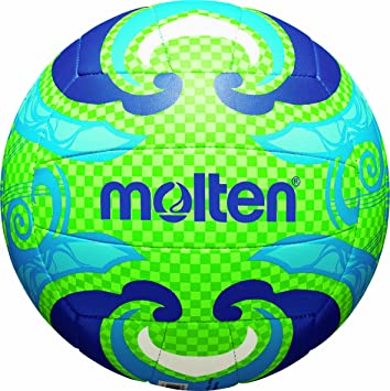 MOLTEN - Balón de Volley Playa grün/Blau Talla:5: Amazon.es ...
