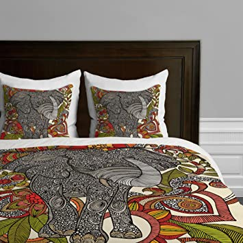 deny designs valentina ramos bo the elephant duvet cover queen