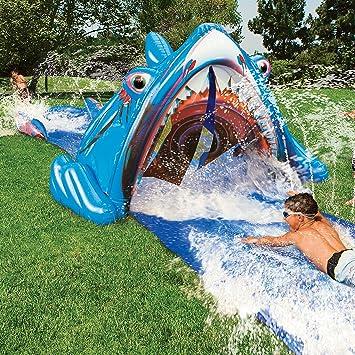 3d Wasserrutsche Hai Amazonde Garten