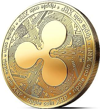 Moneda física de Ripple revestida en Oro auténtico de 24 Quilates. Una verdadera Pieza de coleccionista, con Estuche Protector. Una adquisición ...