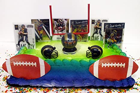 Image Unavailable Not Available For Color LOS ANGELES RAMS Football Team Themed Birthday Cake