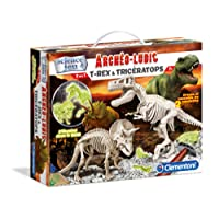 Clementoni - A1503085 - Jeu Scientifique - Trex Triceratops