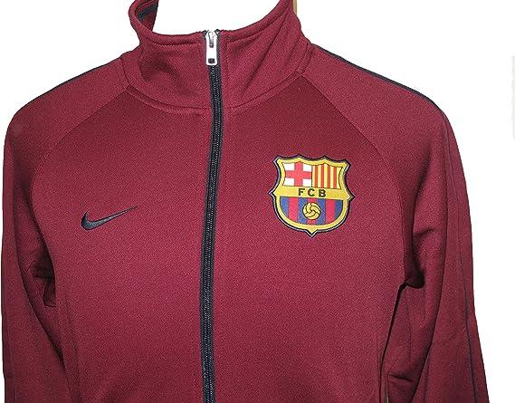 FC Barcelona Nike N98 poliéster chaqueta de chándal zip retro ...