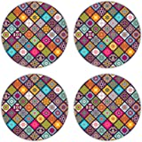 Coastero Super Absorbent Drink Coasters - MINI MANDELA - Set of 4