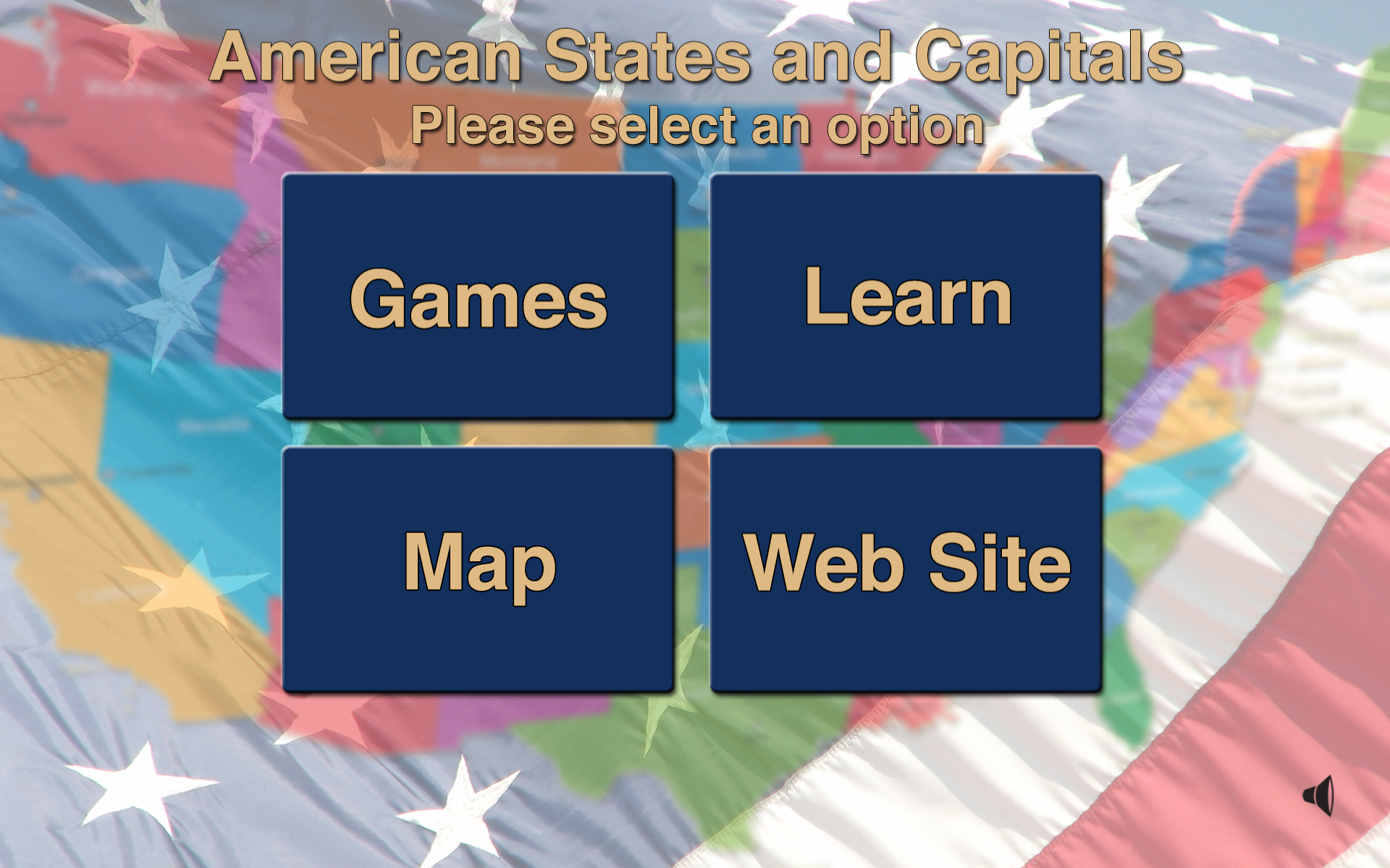 Amazoncom American States And Capitals Appstore For Android - Us map and capitals test